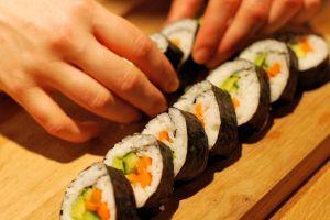 sushi vegetarià
