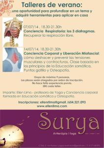 talleres verano2014